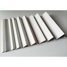 Углы отделочные пластиковые WEST белые 2,7 м 25x25