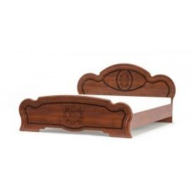 Кровать Барокко 160 Мебель-Сервис 105х206х175 см вишня портофино
