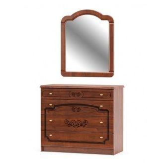 Зеркало Мебель-Сервис Барокко 90х75 см
