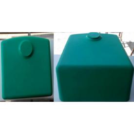 Столешница индивидуальная на кухню цельнолитая с мойкой номер 6 415х410х175 мм с литого камня