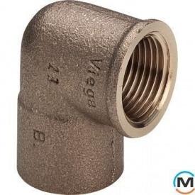 """Колено 15 1/2"""" В бронза 100667 Viega GmbH 94090g"""