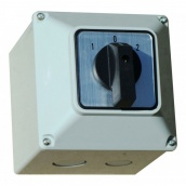 Перемикач кулачковий ПКП ElectrO в корпусі 3 полюса 20А 1-0-2 380В (РКР20102К)
