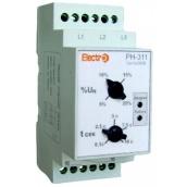 Автоматичне реле ElectrO РН-311 3 полюси + N 2 регулювання 380В (RN3113N2)