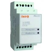 Автоматичне реле ElectrO РН-311 3 полюси без регулювання 380В (RN3113)