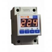 Автоматичне реле контролю напруги ElectrO РКН-1 1 полюс +N 40А 8,8 кВт 230-270В (RКN1N40)
