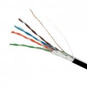 Кабель FTP 4х2х0,51 CCA чорний поліетилен ElectroHouse (EH.LAN-26)