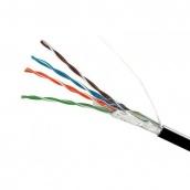 Кабель FTP 4х2х0,51 CCA чорний поліетилен ElectroHouse (EH.LAN-24)