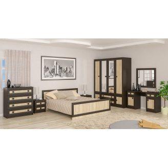 Спальня Меблі-сервіс Даллас дуб санома ДСП