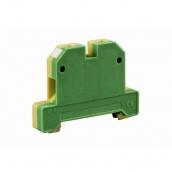 Клемник заземления наборной ElectrO 35/35 0,5-35 желто-зеленый (KZjxb3535YG)