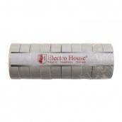 Изоляционная лента ElectroHouse Белая 0,15х18 мм 50 м (EH-AHT-1837)