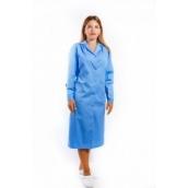 Халат жіночий 3003 Еліт блакитний  52-54/5-6 (80009)