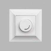 Светорегулятор Gunsan Neoline 1000Вт с подсветкой белый (1421100100127)