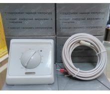 Терморегулятор с датчиком для теплого пола