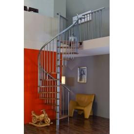 Винтовая лестница MINKA SPIRAL Effect 120 см серебро