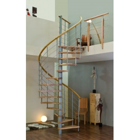 Винтовая лестница MINKA VENEZIA 140 см серебро