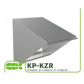Козирок для захисту від опадів для канальної вентиляції KP-KZR-40-40