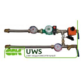 Узел водосмесительный для вентиляции UWS 2-3RL