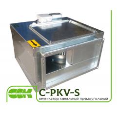C-PKV-S вентилятор канальный прямоугольный в шумоизолированном корпусе