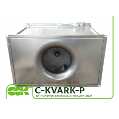 C-KVARK-P  вентилятор канальный прямоугольный с трехфазным двигателем