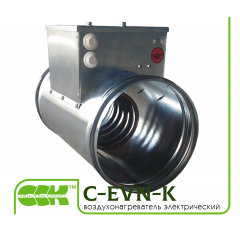 C-EVN-K воздухонагреватель электрический канальный круглый