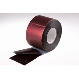 Гідроізоляційна стрічка для покрівлі Plastter 20x1000 см темно-червона
