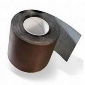 Покрівельна бітумна стрічка Plastter 0,2x10 м коричнева