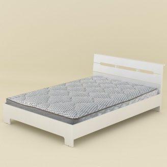 Кровать Компанит Стиль-140 144х766х213 мм нимфея альба