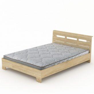 Ліжко Компаніт Стиль-140 144х76х213 мм дуб санома