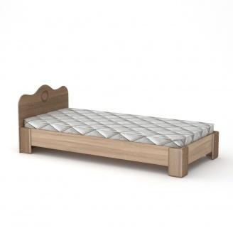Кровать Компанит 100 МДФ дуб санома