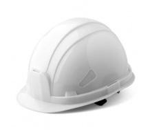 Каска Укрспецзащита шахтер 52-63 см белая