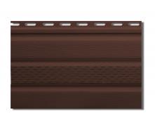 Софит Альта-Профиль Т-20-УN с частичной перфорацией 3000х230 мм коричневый