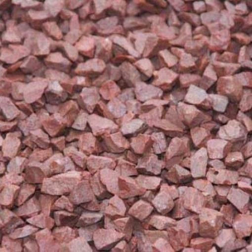 розовый щебень