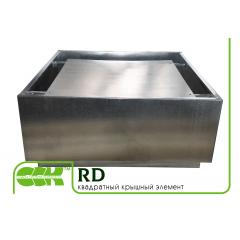 RD крышный элемент вентиляции квадратный