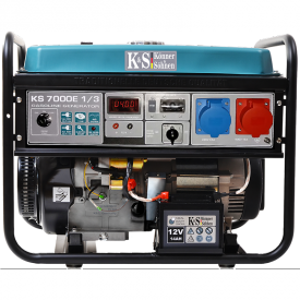 Генератор бензиновый Konner&Sohnen KS 7000Е 1/3
