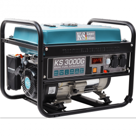 Генератор бензин-газ Konner&Sohnen KS 3000G
