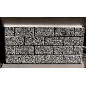 Декоративная термоизоляционная плита 980x480х100 мм для облицовки фасадов и цоколя