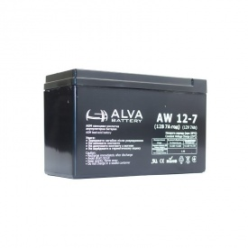 Акумуляторна батарея ALVA AW12-7.5 (108493)