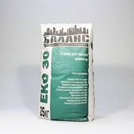 Стяжка цементная для пола ЕКО 30 25 кг