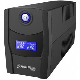 Источник бесперебойного питания PowerWalker Basic VI 600 STL