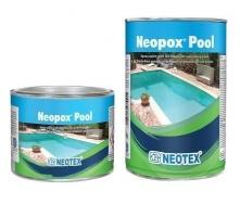 Эпоксидная краска с УФ-фильтрами Neotex Neopox Pool A+B 10 кг для плавательных бассейнов