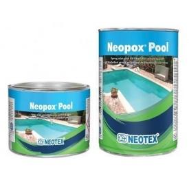 Епоксидна фарба з УФ-фільтрами Neotex Neopox Pool A + B 10 кг для плавальних басейнів