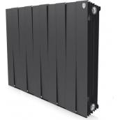 Радіатор Royal Thermo Piano Forte 12 секцій (чорний)