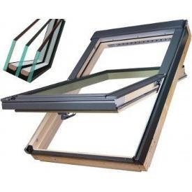 Двухкамерное мансардное окно Fakro FTS-V U4 78x118 см