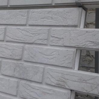 Термопанель Полифасад ПБС-С-25-50 белый цемент 13 кг/м3 500х500 мм