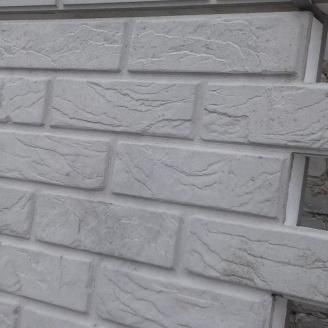 Термопанель Полифасад ПСБ-С-35-50 белый цемент 19-20 кг/м3 500х500 мм