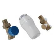 Комплект термостатический Schlosser GZ1/2 x GW1/2 никелированный прямой