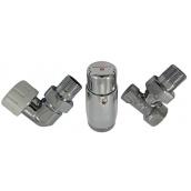 Комплект термостатический Schlosser standart mini хром осевой левый