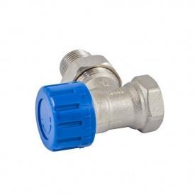 Термостатичний клапан Schlosser нікельований кутовий DN 15 GZ 1/2xGW1/2