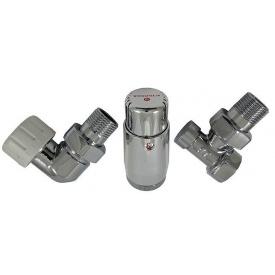 Термостатичний Комплект Schlosser standart mini хром осьовий лівий