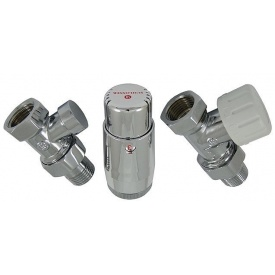 Термостатичний Комплект Schlosser standart mini хром прямий